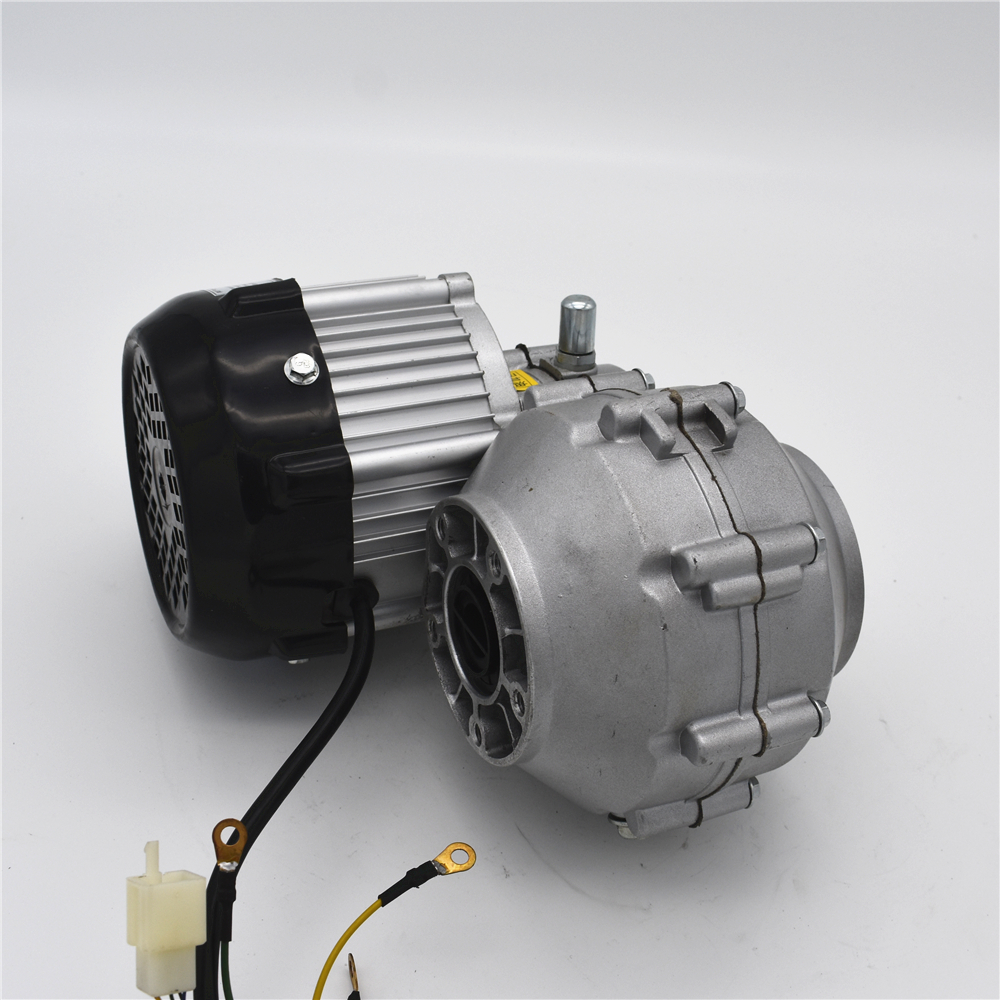 Driven by rear axle permanent magnet DC brushless motor BM1418HQF(BLDC)500W48V driven to distraction