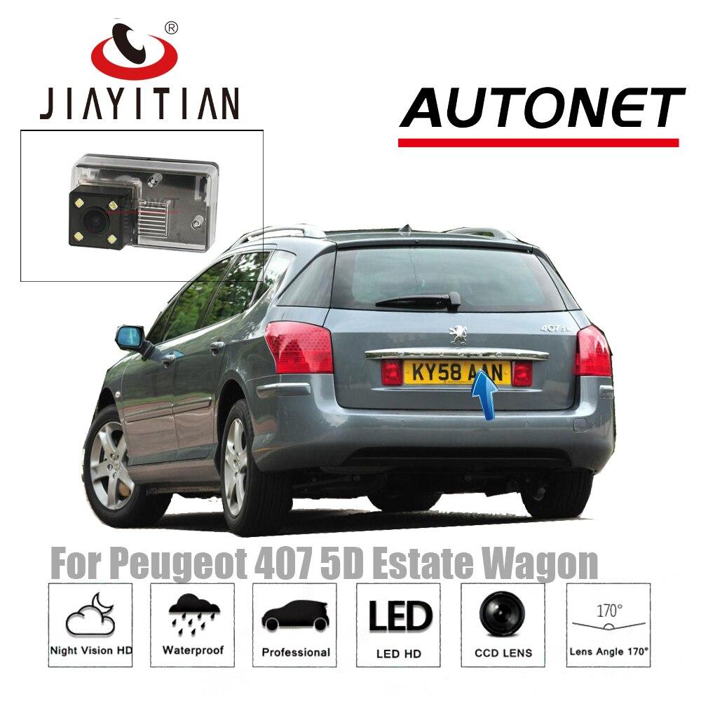 Car Camera For Peugeot 407 5D Estate Wagon 2004 2010 HD CCD Backup Parking Camera Night