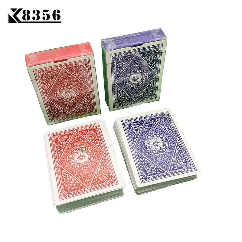 K8356 1Set Little Letters Texas Hold'em Paper Playing Cards Smooth Poker Cards Deck Baccarat Board Game Card 2.48*3.46 inch цена