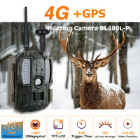 4G Hunting Trail Cameras with GPS 4G LTE Wildlife Cameras 12MP GPS Forest Wildlife Cameras 4G Network Hunter Cameras trap photo