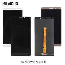 LCD Display For Huawei Mate 8 Mate8 MT8 NXT-AL10 NXT-CL00 NXT-DL00 NXT-L09 Touch Screen Digitizer Assembly Black White No Frame 10pcs high quality lcd display digitizer touch screen for huawei mate 8 mate8 assembly complete replacement frame free shipping