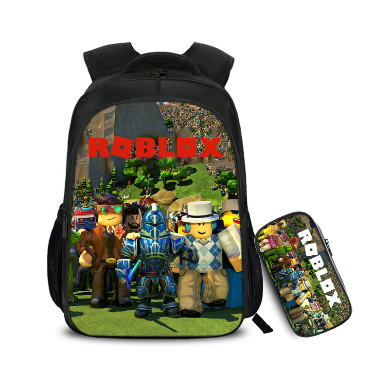 2019 Hot Game Backpacks Roblox Printing School Bags Set 3pcs School Supplies Bags For Boys Girls Schoolbag Teen Mochila Satchel2019 Hot Game Backpacks Roblox Printing School Bags Set 3pcs School Supplies Bags For Boys Girls Schoolbag Teen Mochila Satchel