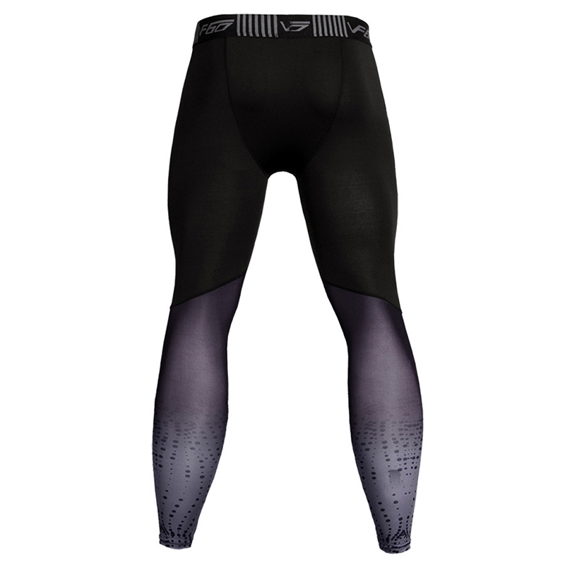Plus Size Men's Compression Pants Tights Leggings Fitness Sportswear Long Trousers Gym Training Pants Skinny Leggins