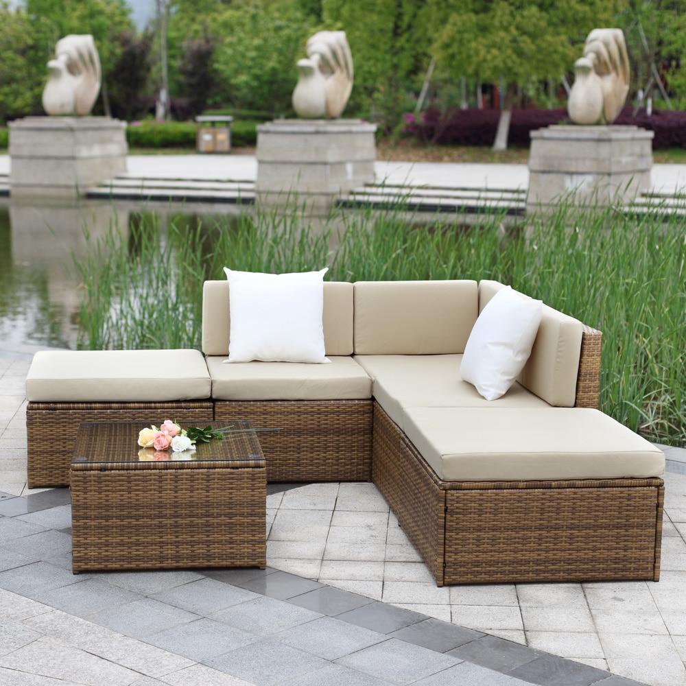 Bonito Muebles De Jardín De Mimbre Reino Unido Foto - Muebles Para ...