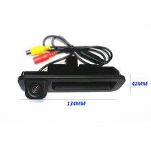 Interruptor tronco alça Da Câmera para Ford Focus 2 Foco 3 2012 2013 2014 2015 HD CCD da câmera de estacionamento retrovisor Do Carro câmara de estacionamento reverso