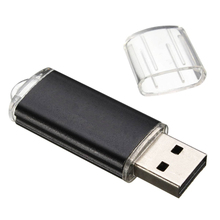 256 MB Flash USB 2,0 disco de U negro