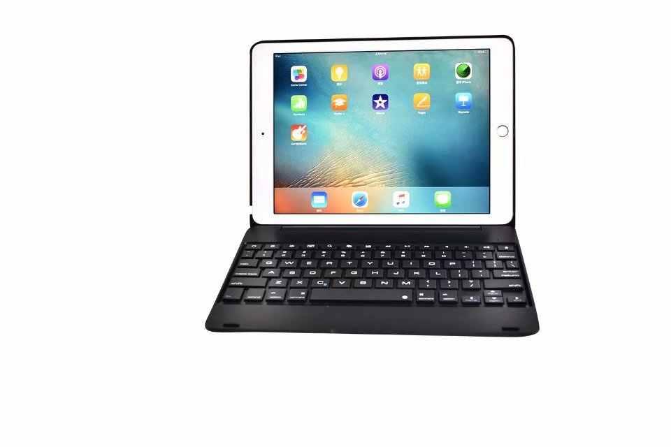 جديد اللاسلكية كوكه لباد برو 9.7 غطاء مع لوحة المفاتيح A1673 A1674 A1675 بلوتوث ABS ل أي باد برو من أبل 9.7 لوحة المفاتيح حالة