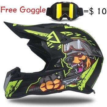 Motocross Helmet Off Road helmets Moto Motocicleta Casco fox Capacete Dirt Bike Casque G кофры komine