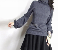 Free Shipping 2014 Women S Heap Turtleneck Cashmere Sweater Women S Sweater Slim Knitted Sweater