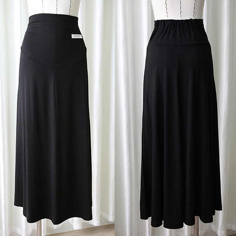 d314676260349 ... Summer Black Maternity Skirt Clothing For Pregnant Women Maternity  Clothes Faldas De Maternidad yzy 3 Colour ...