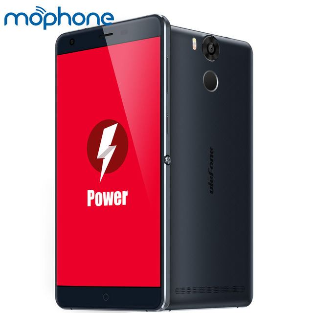 "Ulefone Power 6050mAh 4G 5.5"" FHD 1080P Smartphone Android 5.1 Octa Core MT6753 3GB+16GB 13MP Fingerprint ID OTG Mobile Phone"