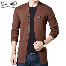 Mwxsd casual mens cardigan sweater men V neck Cashmere Christmas sweater  jacket male slim fit pull 4f71ddf448b0