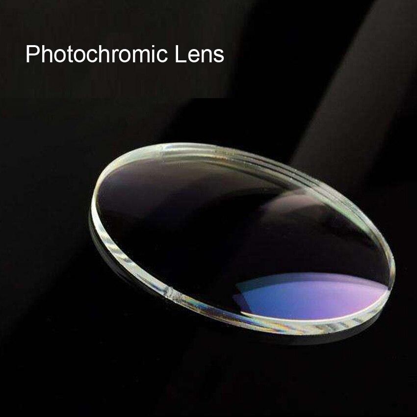Laura fée lentilles photochromiques Distance indice de lentille de lecture lentilles de Prescription lentilles optiques HMC lentilles optiques