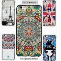 My Colors For iPhone 6Plus case 6Plus 3D Relief painting soft Silicon back cover  iPhone 6Plus  With retail Box