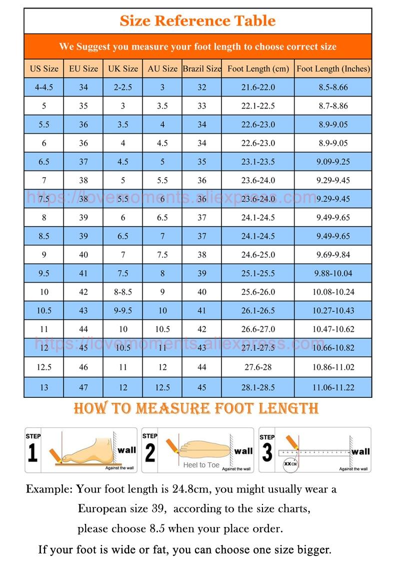 xiuse size chart 1