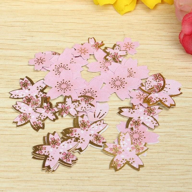 New Plum Flower Cherry Blossoms Diary Stickers DIY Scrapbooking Paper Wedding Hand Account Notebook Album Photo Art Decoration