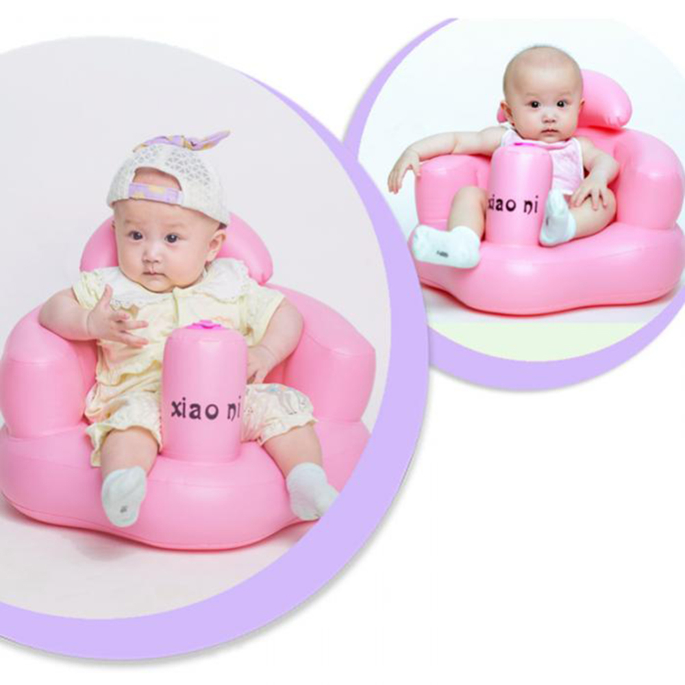 Multifunctional Portable Baby Inflatable Sofa Dining Chair Seat Bath Stool Swim Trainer Dropshiping