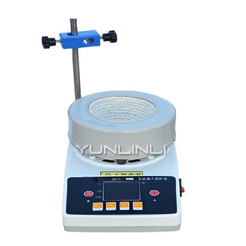 Ensemble de chauffage électrique d'agitation magnétique numérique Intelligent de laboratoire 220 V 300 W 100 ml ensemble de chauffage électrique rapide ZNCL-TS