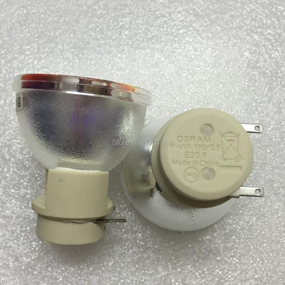 projector lamp bulb 330-9847 / 725-10225 P-VIP 190/0.8 E20.8 for Dell S300 new Original original bare watts p vip 190 e20 8 bulb with housing projector lamp bl fp190a for optoma ds325 x300 s300 dx325 s300