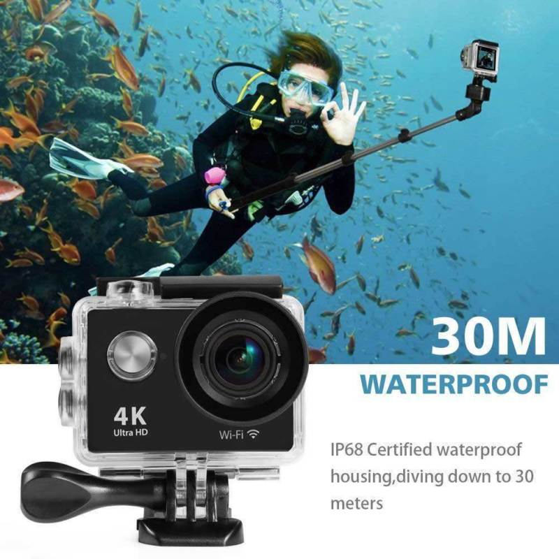 Ultra HD K Mini Camera Waterproof Sports Camera WIFI Helmet DV Camera