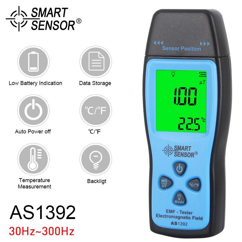 Digital EMF Tester Radiation Dosimeter Portable Handheld LCD Electromagnetic Field Radiation Detector Radiation Meter Counter