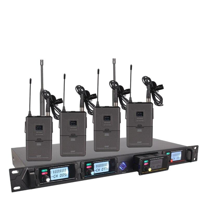 4-kanalni bežični mikrofonski sustav 8000G profesionalni UHF kanali - Prijenosni audio i video - Foto 4