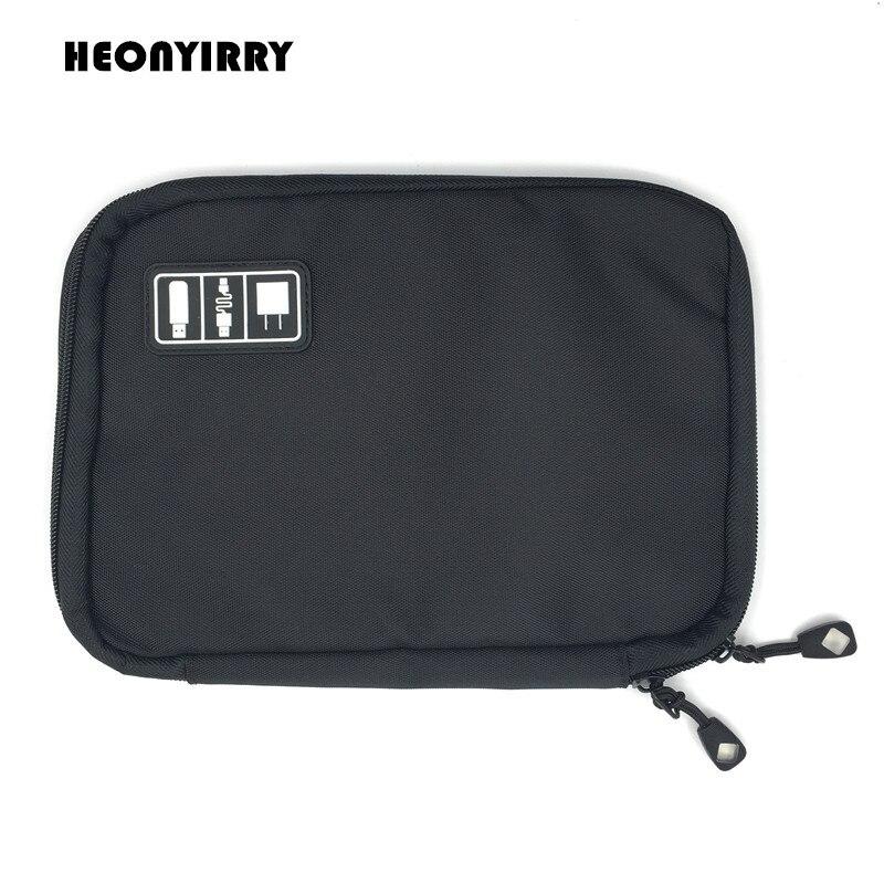 Organizer System Kit Case Storage Bag Digital Gadget Devices USB Cable Earphone Pen Travel Insert Portable case
