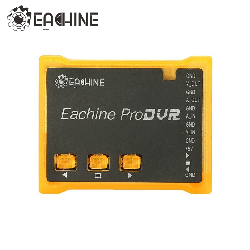 In Stock! Eachine ProDVR Pro DVR Mini Video Audio Recorder for FPV Quadcopter Multicopters RC Drones Toys Recording Flying DIY fpv 1 2ghz 100mw 4ch wireless audio