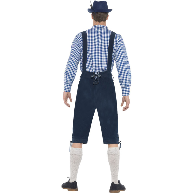 MOONIGHT Oktoberfest Costume Bavarian Octoberfest German Festival Beer Cospaly Halloween For Men  1