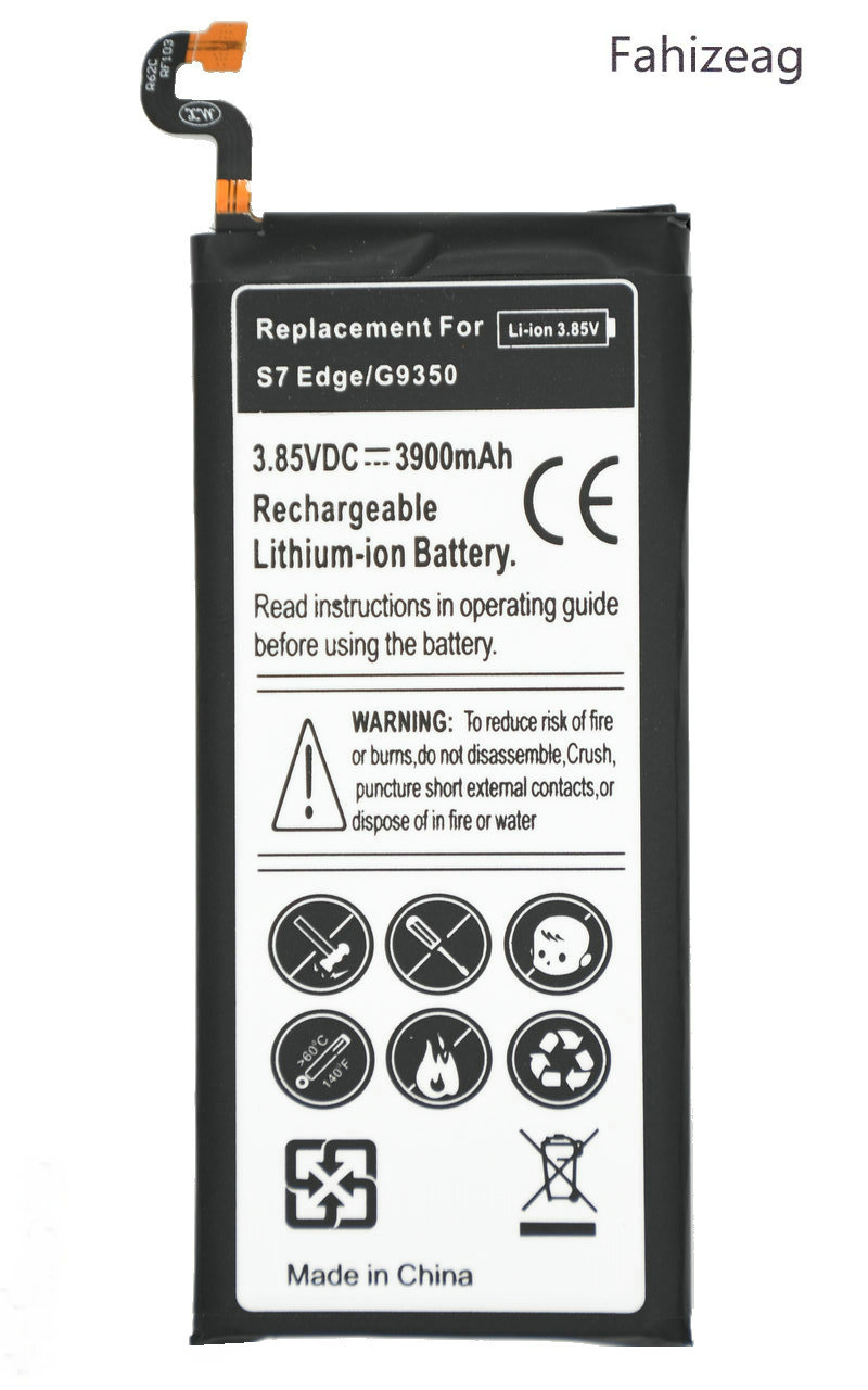 Fahizeag Replacement-Battery Samsung Galaxy S7-Edge G9350 3900mah For G935/G935f/G935r4/..