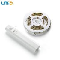 Lmid SMD 2835 Flexible LED Strip Light With Motion Sensor LED IP65 Waterproof 2700K Night Lights