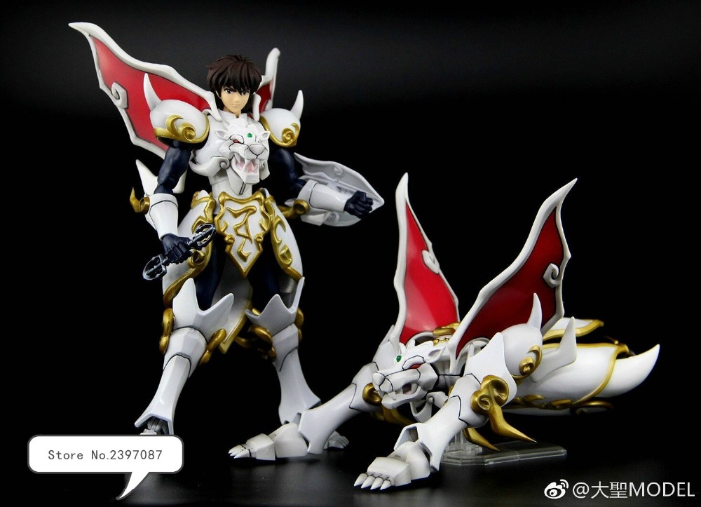 New Arrival Dasheng model Great Toys Tenkuu Senki Shurato Saint Metal Armor Transform Action Figure