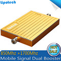 600sqm Coverage CDMA 850 /AWS 1700Mh Dual band Mobile Cell Phone Signal Booster Cellular Repeater GSM Amplifier For Canada