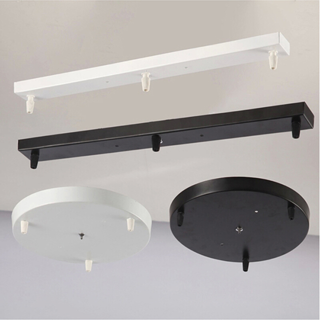 Lamps chandeliers base plate lighting accessories black or white lamps chandeliers base plate lighting accessories black or white round rectangular ceiling base rose canopy plate mozeypictures Choice Image