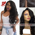 Japanese Heat Resistant Fiber Wigs Synthetic Lace Front Wig With Side Bangs Glueless Lace Wigs for Black Woman