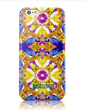 Luxury Puro Just Cavalli Fashion Famous Brand Royal Cover Case for Case for iPhone 4 4S 5 5S 5C 6 Plus