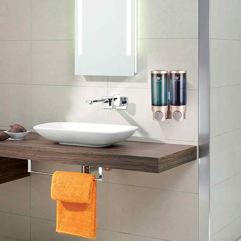 CHUANGDIAN dozownik mydła w płynie 20 rodzajów wielu kolor podwójne dozownik mydła w płynie dozownik do mydła w płynie do rąk Home Hotel łazienka ubikacja pudełko