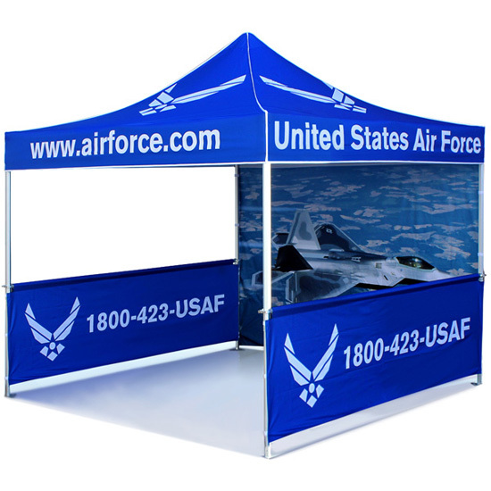 Pop Up Folding Tent Promotional Custom Canopy Tent 13kgs
