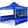 Promoção pop up tenda com logotipo personalizado, 11kgs moldura de alumínio tenda de publicidade, barraca de impressão digital