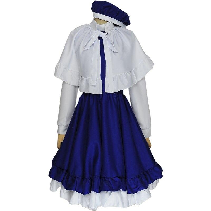 Card Captor Sakura Tomoyo Daidoji Cosplay Costumes Singer Dress Full Set