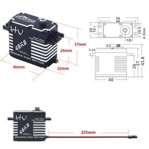 Image 2 - JX BLS HV7146MG 46KG Full CNC Aluminium Digital Brushless Standard Waterproof Servo for 50cc to 100cc Airplane