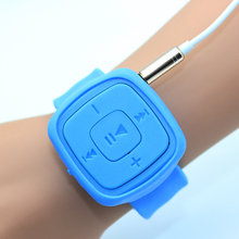 Fashion High Quality Mini Watches Mp3 Player With TF Card Slot Electronic