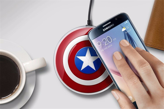 Wireless Charger USB Charging Pad for Samsung Galaxy S6 S7 Edge Note 5
