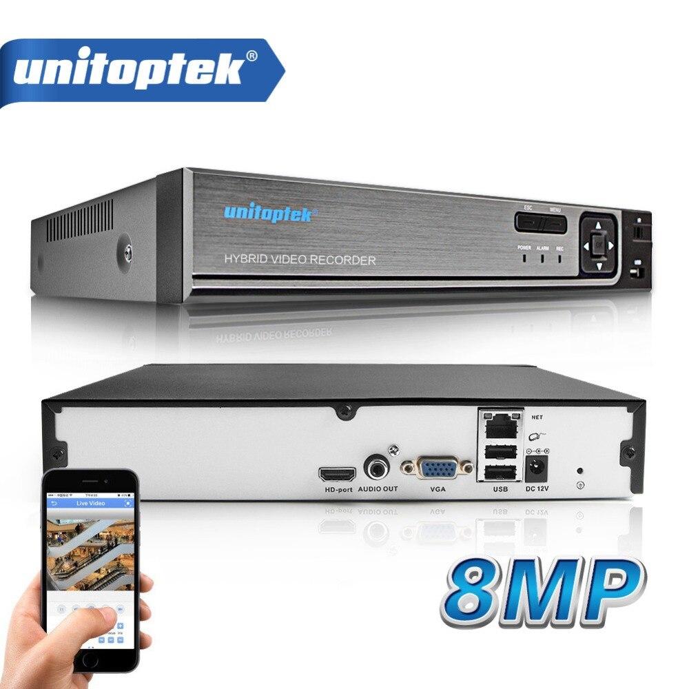 32CH 5M 8MP 4K CCTV NVR 1080P 25CH H.265/H.264 Detecção de Movimento CCTV Rede Gravador de Vídeo ONVIF FTP Para Sistema de Câmera De Segurança IP
