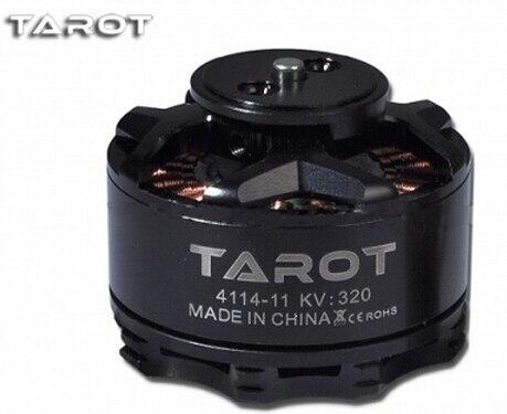 Tarot TL100B08 01 TL100B08 02 4114 320KV multi axis brushless motor Black Orange