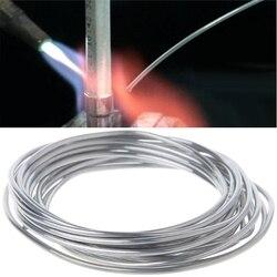 2.00mm * 3m miedziany aluminiowy drut rdzeniowy niskotemperaturowy aluminiowy pręt spawalniczy