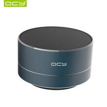 QCY A10 беспроводной bluetooth динамик металлический мини портативный динамик с микрофоном Поддержка TF карты fm-радио