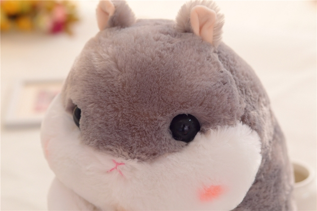 Interesting series Cute cartoon hamster plush toy Mouse dolls Bedroom decoration Girl Birthday Gift High quality and low price