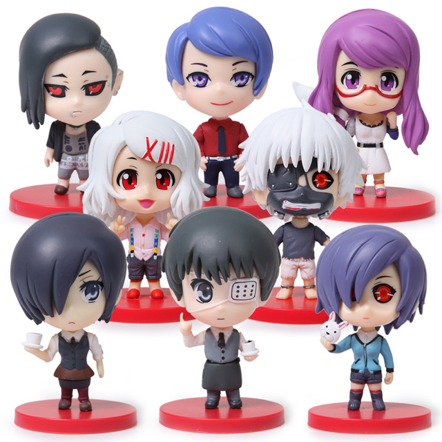 Tokyo Ghoul Action Figures Collectible Model Toys