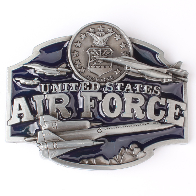 Military Theme Belt Buckle